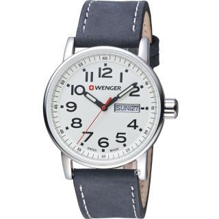 【瑞士WENGER】Attitude 態度系列 野營生活時尚腕錶(01.0341.101)