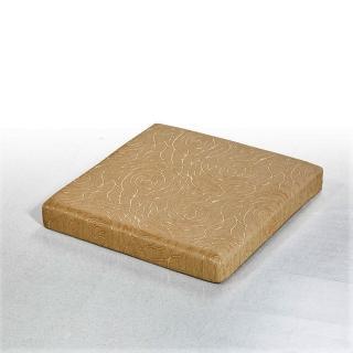 【CLEO】8公分厚四方墊防潑水緹花/乳膠皮/沙發坐墊(4入)