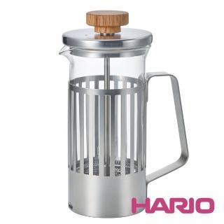 【HARIO】光影之間濾壓茶壺2杯(THT-2MSV 300ml)