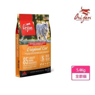 【渴望Orijen】挑嘴貓配方 成幼貓專用 野牧鮮雞(5.4公斤/12LB)