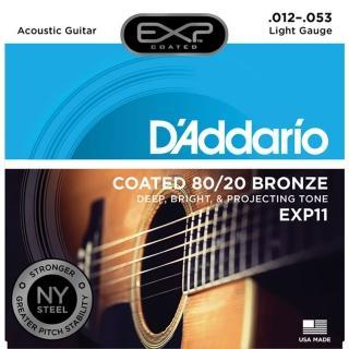 【DAddario】DDXF-EXP11 黃銅民謠木吉他套弦(原廠公司貨 商品保固有保障)