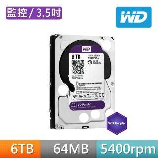 【Western Digital】60PURZ 紫標 6TB 3.5吋監控系統硬碟