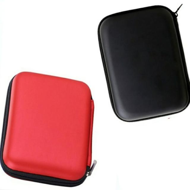 【Ainmax】佳佳極致經典防震防潮收納包(2.5吋外接硬碟也均適用 2入)