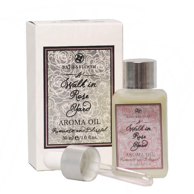 【Bath & Bloom】漫步玫瑰園香氛油(30ml)
