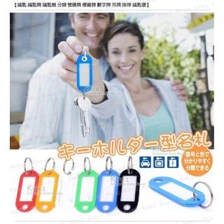 【kiret】多功能 分類牌-鑰匙分類 買15送5-多色隨機(套房號碼牌 鑰匙 鑰匙牌 鑰匙圈 分類 號碼牌 標籤牌)