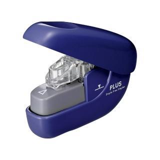 【普樂士】PLUS SL-106NB無針訂書機6枚 藍