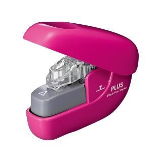 【普樂士】PLUS SL-106NB無針訂書機6枚 粉紅