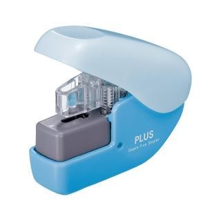 【普樂士】PLUS SL-104NB無針訂書機4枚 藍