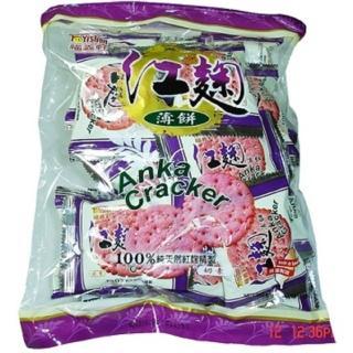【福義軒】紅麴薄餅(360g-蛋奶素)