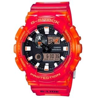 【CASIO G-SHOCK】競速衝浪流行運動腕錶(GAX-100MSA-4ADR)