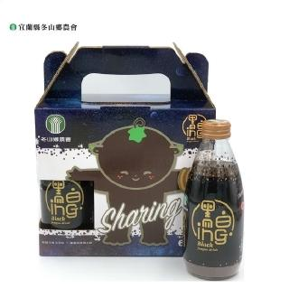 【冬山鄉農會】有機黑木耳飲禮盒組(246mlx6瓶)/