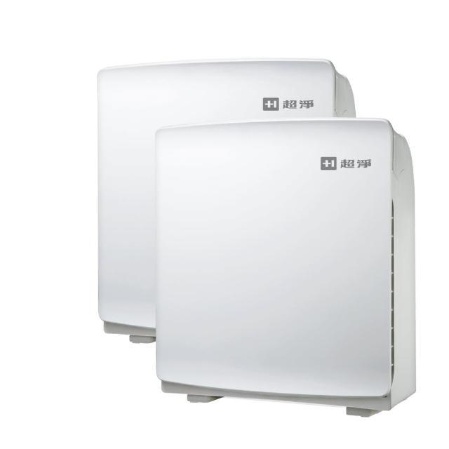 兩入超值組-【佳醫 超淨】加強除臭清淨機 10-15坪(AIR-10W  白)