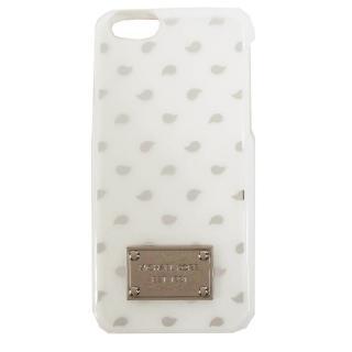 【MICHAEL KORS】ELECTRONICS 水滴iPhone6手機殼(白)