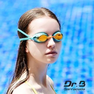 【美國巴洛酷達Barracuda】光學度數泳鏡巴博士Dr.B#93590 F935(女性專用度數電鍍泳鏡)