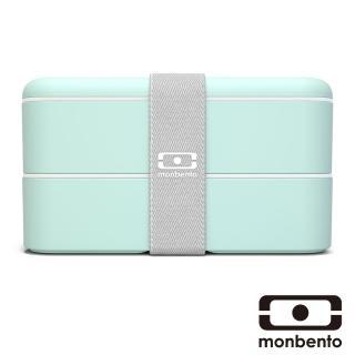 【MONBENTO】雙層餐盒-抹茶色(MB-120012155)