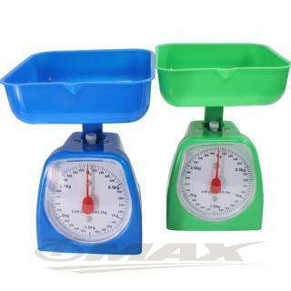 【OMAX】簡易型烘焙3KG料理秤206-1入(顏色隨機)
