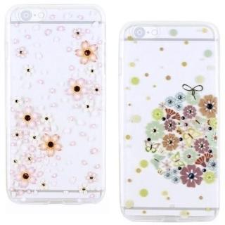 【奧地利水鑽】iPhone 6 /6s 花系列保護軟套(4.7吋)