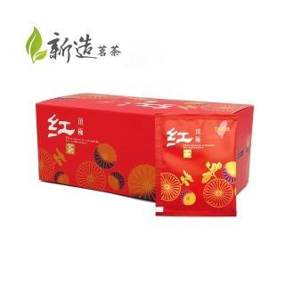 【新造茗茶】精選台灣蜜香紅茶極品袋茶包(30入/盒)
