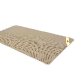 【蒙娜麗莎】台灣製4D超透氣專利止滑可水洗速乾床墊(3.5尺單人加大)
