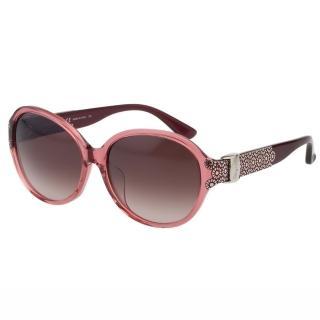 【Salvatore Ferragamo】-時尚優雅太陽眼鏡SF742SA(粉色)