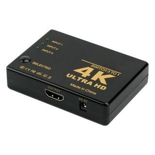 【Bravo-u】HDMI 三入一出 4Kx2K高清多媒體切換器