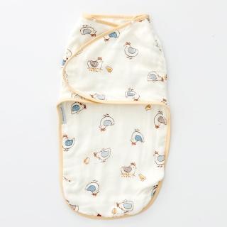 【奇哥】竹纖維紗布子宮包巾(快樂小雞)