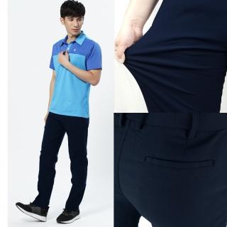 【遊遍天下】台灣製男款彈力超顯瘦西褲長褲 二色(M-3L)