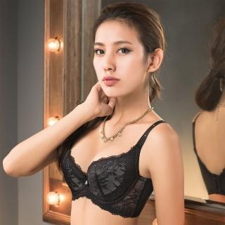 【摩奇X】大V美背系列B-C罩杯內衣(黑)