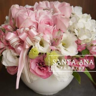 【Santa Ana】花花盆(新鮮花材與高質感盆器的組合)