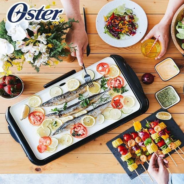 【美國OSTER】BBQ陶瓷電烤盤(CKSTGRFM18W-TECO)