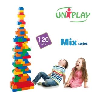 【UNiPLA】抗菌軟積木 MIX款(120PCS)