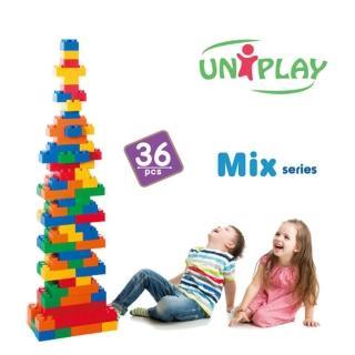 【UNiPLA】抗菌軟積木 MIX款(36PCS)