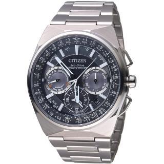 【星辰 CITIZEN】光動能鈦金屬衛GPS星對時腕錶(CC9009-81E)