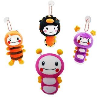 【MOMO親子台】玩偶組(7吋momo+5.5吋小蜜、點點、亮亮)
