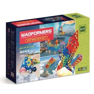 【MAGFORMERS】磁性建構片-頂級建造465片裝(2017新品)