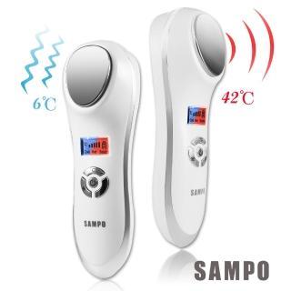 【SAMPO聲寶】美容1+1超值組(冰晶熱敷美容儀+眼周按摩筆)