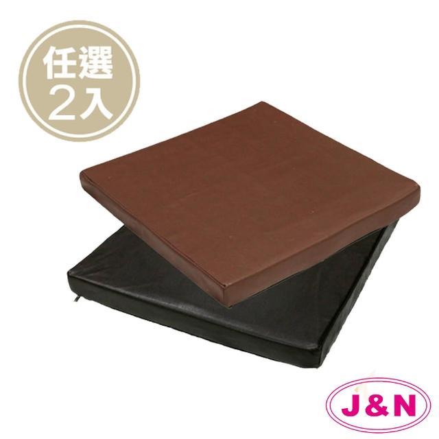 【J&N】丹尼素仿皮立體坐墊