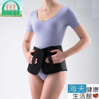 【海夫xMAKIDA】抗靜電 銀鍺 能量護具 強力背架 BP211 MAKIDA軀幹裝具