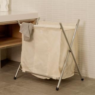 【ikloo】附蓋單格髒衣收納籃洗衣籃
