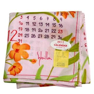 【Sybilla】新款 2017 CALENDAR 時尚帕領巾(粉色)