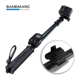【SANDMARC】鋁合金強力延伸桿 極限黑 40吋 加贈 GoPro 板手(GoPro延伸桿 GoPro自拍棒 鋁合金自拍棒)