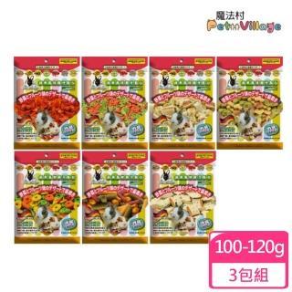 【Pet Village 魔法村】鼠兔用綜合磨牙餅 160g(3包組)