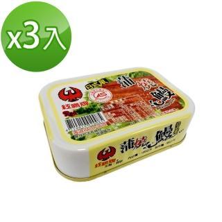 【紅鷹牌】日式風蒲燒鰻(100gX3入)