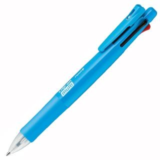 【ZEBRA】B4SA1 四色五合一原子筆 淺藍