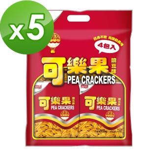 【可樂果】古早味-量販包(4包/袋)*5袋
