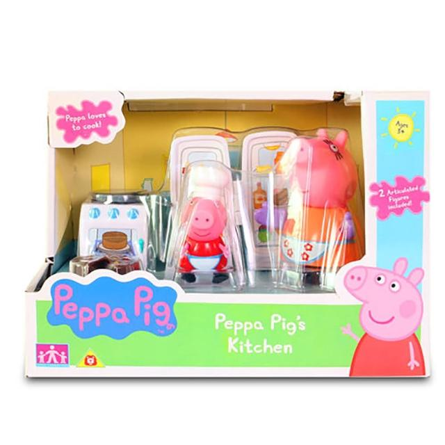 【Peppa Pig】粉紅豬小妹 廚房玩具組(佩佩豬)