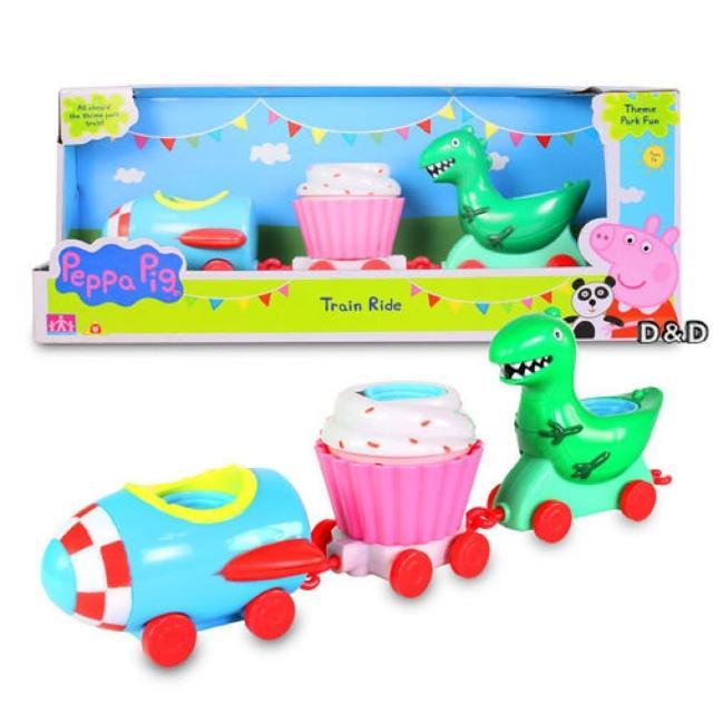 【Peppa Pig】粉紅豬小妹 歡樂樂園系列 - 樂園火車組(佩佩豬)