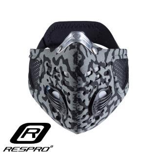 【英國 RESPRO】SPORTSTA 運動款高透氣防護口罩(迷彩)