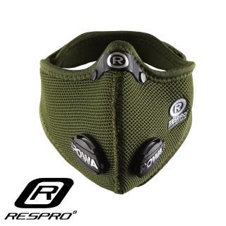 【英國 RESPRO】ULTRALIGHT 極輕透氣防護口罩(綠色)