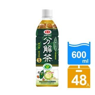 【愛之味】油切分解茶600mlx24入x2箱(榮獲國家健康認證-降火氣解油膩)